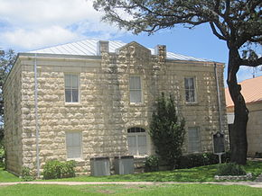 Real County courthouse in Leakey, TX IMG 4304.JPG