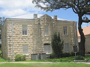 Leakey, Texas - Real County Courthouse in Leakey