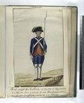 Real cuerpo de Artilleria; se creo este en Regimiento el Año, de 1710, y consta, de seis Batallones, cada vno de siete Compañias, y estas de 108 Plazas. (1797) (NYPL b14896507-87788).tiff