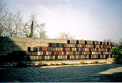 The International Red Cross Memorial in Solferino, Italy.