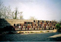 The International Red Cross Memorial in Solferino, Italy.