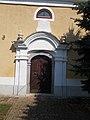 Reformed Church portal, 2016 Bonyhad.jpg