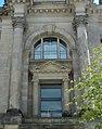 Reichstagsgebäude - Nordansicht ( Rechts - Ecke - Fenster ).jpg