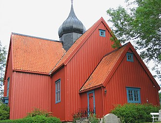 Rein Church - View of the church