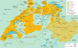 Religion map of Switzerland in 1536 - en.png
