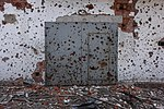 Remains of a building after shelling near Donetsk International Airport.jpg