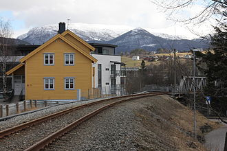 Hardanger Line - Remains of the Hardanger Line today.