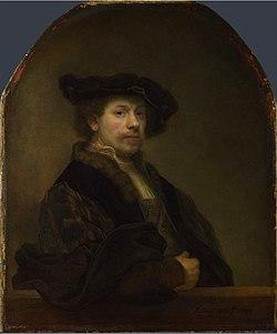 Rembrandt   zelfportret 1640