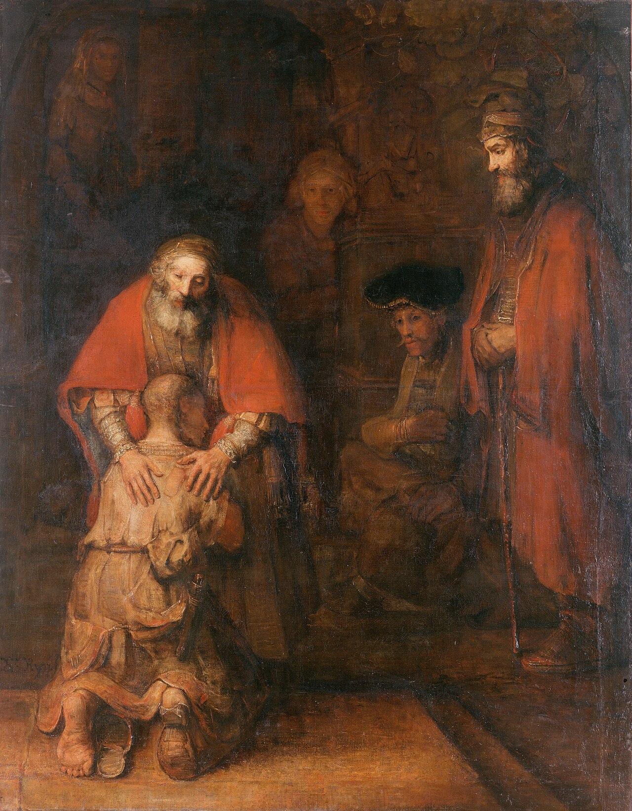 Rembrandt, Il Ritorno del Figlio Prodigo