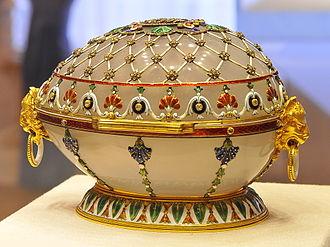 Renaissance (Fabergé egg) - Image: Renaissance egg