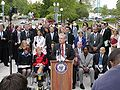 Rep. Peterson at PE4LIFE Day 2004.jpg