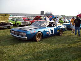 Reproduction of the 1969 Ford Talladega Race Car driven by David Pearson.jpg