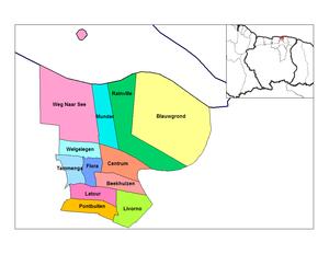 Paramaribo District - Resorts of Paramaibo