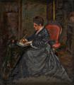 Retrato da Condessa d'Edla sentada a escrever (1875) - Columbano Bordalo Pinheiro.png