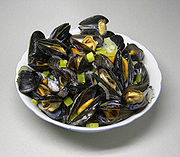 how to tell if cooked mussels are bad
