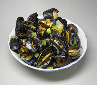 Shellfish - Cooked mussels