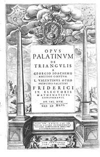 Opus Palatinum de triangulis cover
