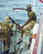 Rhodesian African Rifles, Lake Kariba, December 1976, 3