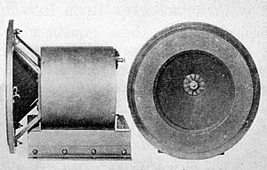 Loudspeaker - The first commercial version of the speaker, sold with the RCA Radiola receiver, had only a 6 inch cone. In 1926 it sold for $250, equivalent to about $3000 today.
