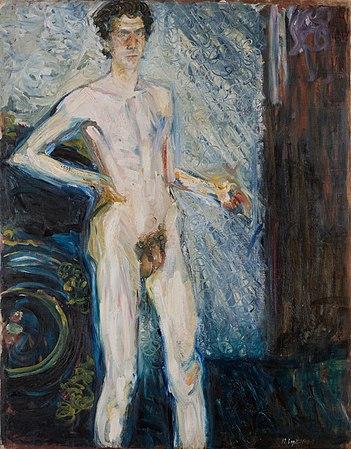 Richard Gerstl - Nude Self-Portrait with Palette - Google Art Project.jpg