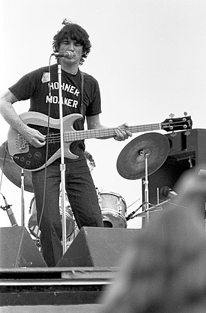 Rick Danko - Danko performing at Woodstock Reunion, September 7, 1979