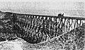 Rindge Railroad Trestle over Ramirez Canyon (at Paradise Cove), Malibu, California.jpg