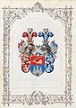 Ritterstandsdiplom - Visini 1870 - Wappen.jpg