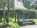 Road Sign and Bench, village of Combs - geograph.org.uk - 25471.jpg