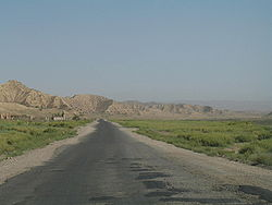 Road in southern Aksy district.jpg