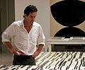 Robert Kelly in his studio.jpg