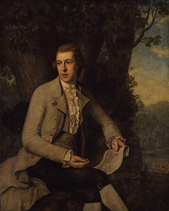 Robert Pollard (engraver) - Robert Pollard, 1784 portrait by Richard Samuel