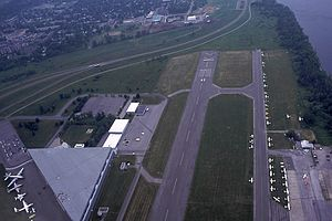 Ottawa/Rockcliffe Airport - Aerial of the airport