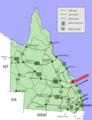 Rockhampton location map in Queensland.PNG