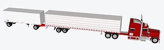 Long combination vehicle - Rocky Mountain Double