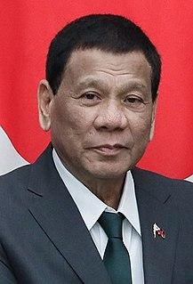 Rodrigo Duterte 16th President of the Philippines