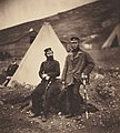 Roger FentonCaptain Graham and Captain MacLeod, 42nd Regiment, 1855.jpg