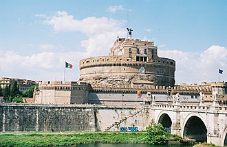 Siege of Rome (537–538) - The Mausoleum of Hadrian was the scene of a fierce battle between Romans and Goths.