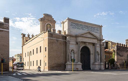 Rome (IT), Porta Pia -- 2013 -- 3336