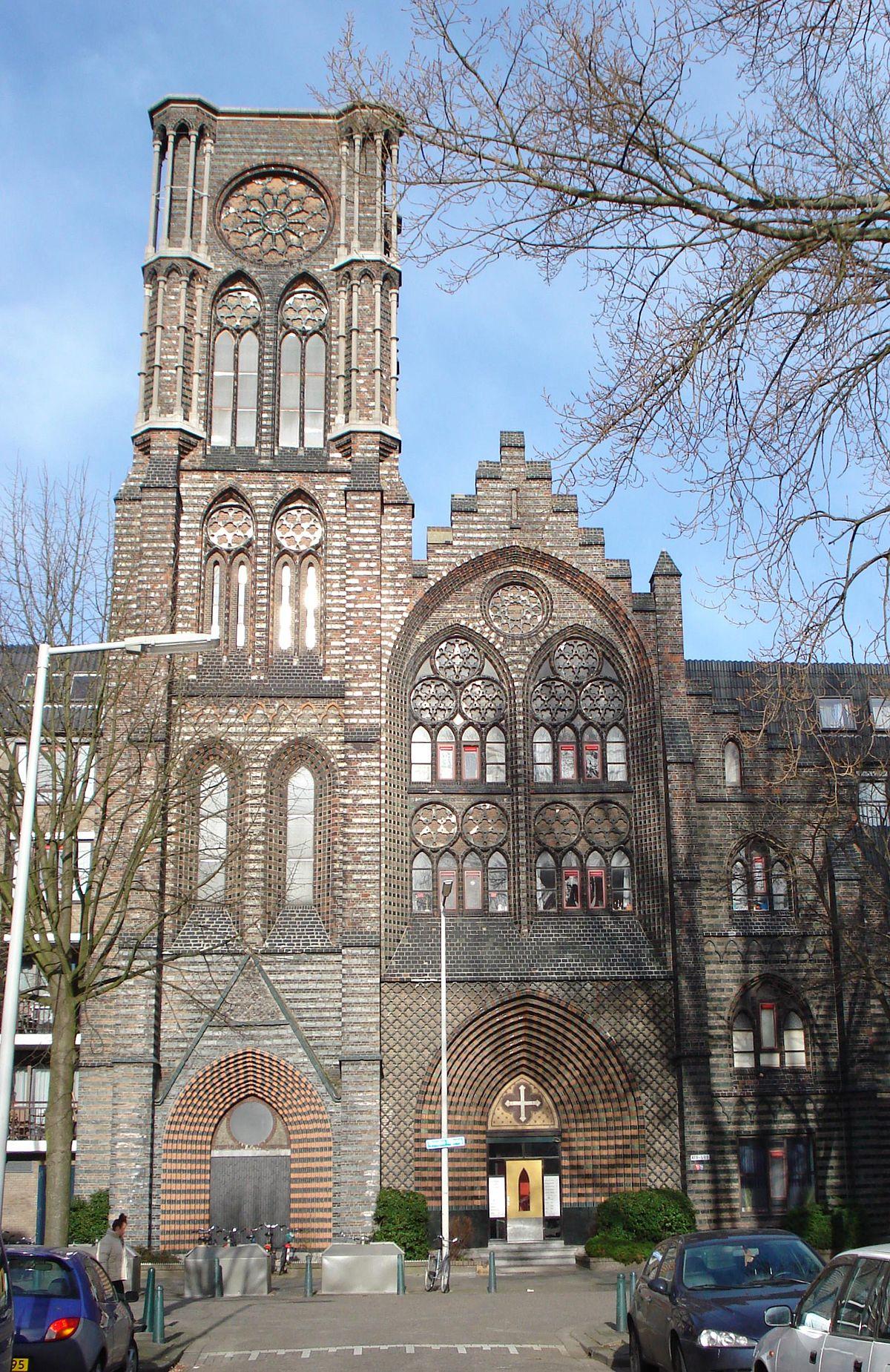 Allerheiligste verlosserkerk rotterdam wikipedia for Rotterdam crooswijk
