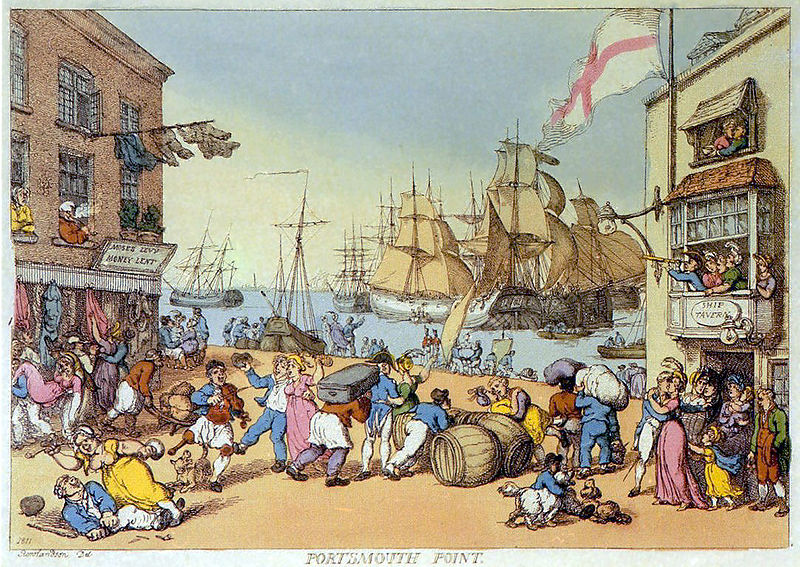 File:Rowlandson - Portsmouth Poing.jpg