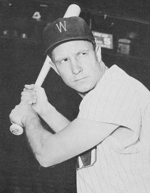 Roy Sievers - Washington Senators - 1959