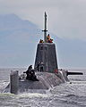 Royal Navy Submarine HMS Astute Returns to HMNB Clyde MOD 45153734.jpg