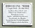 Rudolfine Muhr plaque, Hietzing.jpg