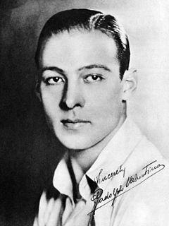 Rudolph Valentino Italian actor