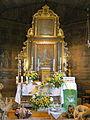Rudziniec, kościół św. Michała Archanioła, ołtarz główny.JPG