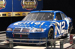 Ryan Newmans #12 after finishing 2008s Daytona...