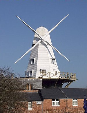 Rye, East Sussex - The windmill