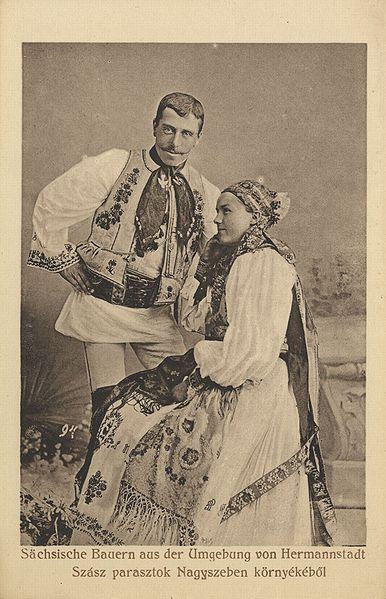 File:Sächsische Bauern aus der Umgebung von Hermannstadt.jpg