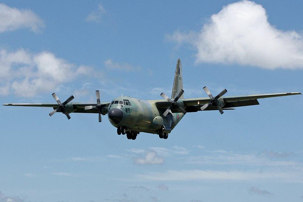 S3-AGB Bangladesh Air Force Lockheed C-130B Hercules (7786122412)