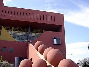 Postmodern architecture - San Antonio Public Library, Texas